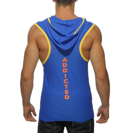 ADDICTED AD377 - HOODY TANK TOP