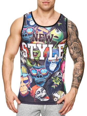 Code clothing tank top