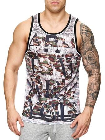 By studio tank top camo