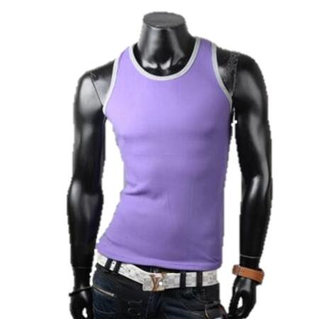 slim fit tank top lilla