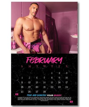 Andrew Christian Bussy Power 2018 kalender