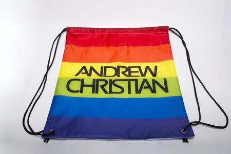 Andrew Christian Rainbow Backpack