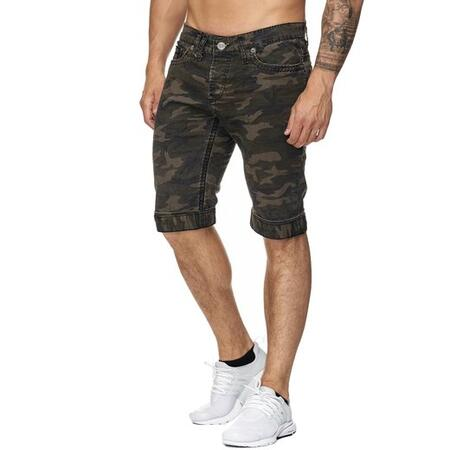 Camouflage jeans shorts army
