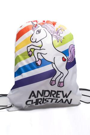 Andrew Christian Unicorn Rainbow Backpack