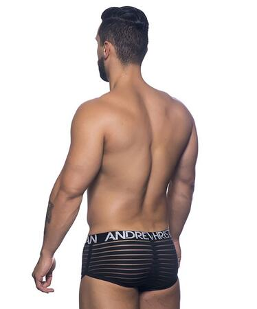 AC Sheer Stripe Boxer w/ Almost Naked