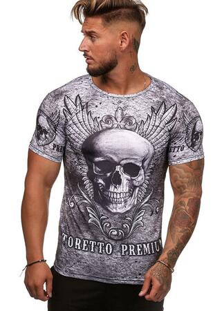 T-shirt med print all over