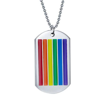 Pride dog tag
