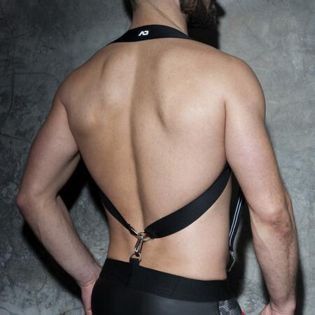 ADF85 ADDICTED ELASTIC SUSPENDERS