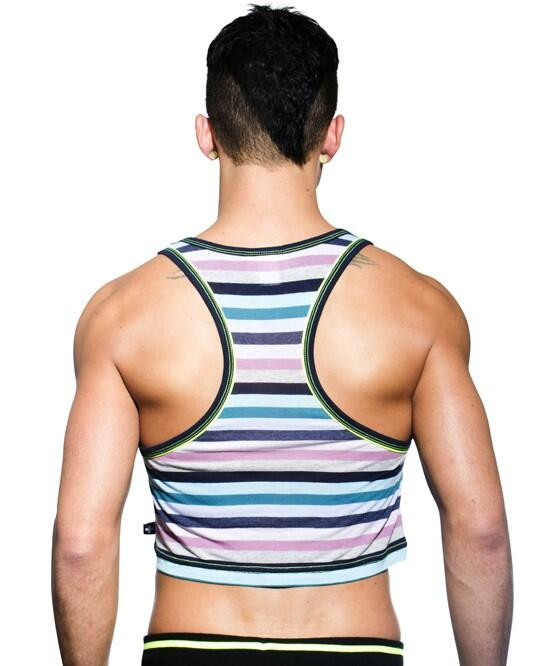 Andrew Christian Mission Crop Tank
