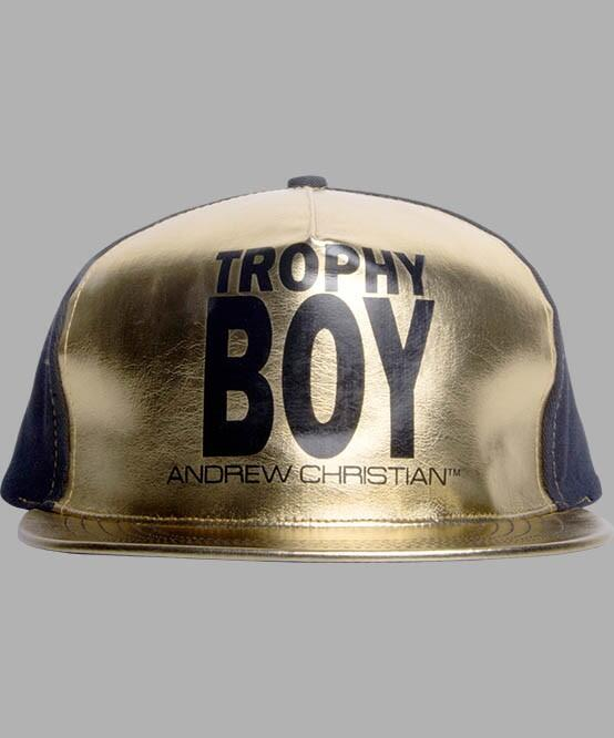 Trophy Boy Cap Gold