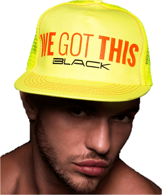 We Got This Black Cap from Andrew Christian