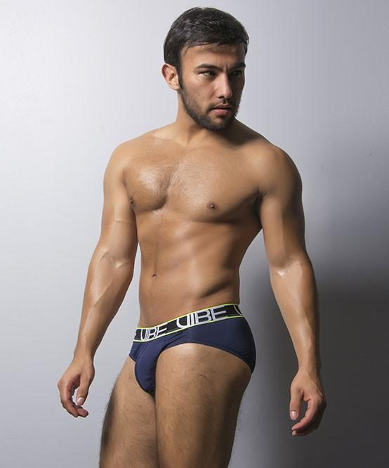 Andrew Christian Vibe Brief blå