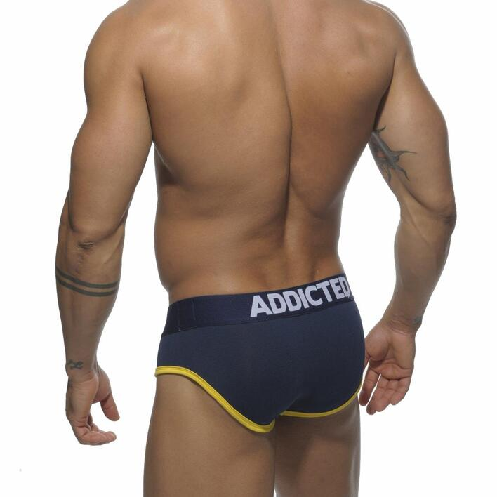 ADDICTED AD290 - CONTRAST RACING STRIPE BRIEF