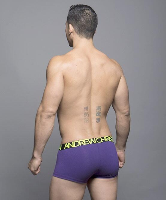 HAPPY TAGLESS BOXER - Andrew Christian lilla