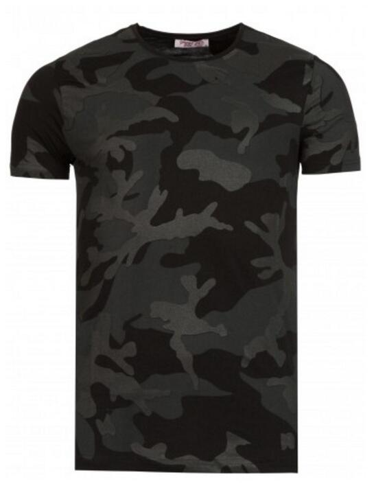 Young & Rich Camoflage t.shirt