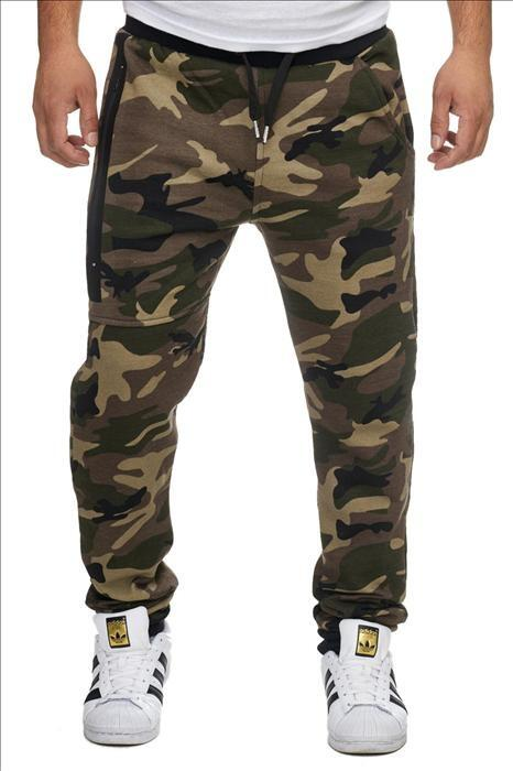 camouflage joggingbukser army