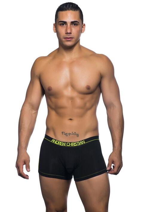Andrew Christian coolFlex active boxer w/show it