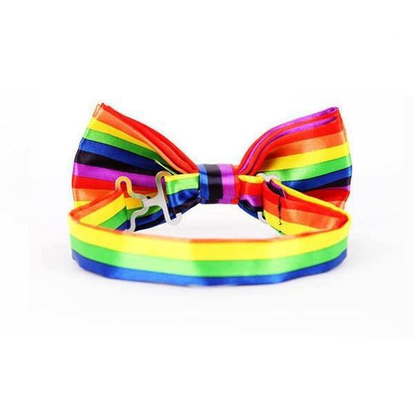 Rainbow pride buterfly