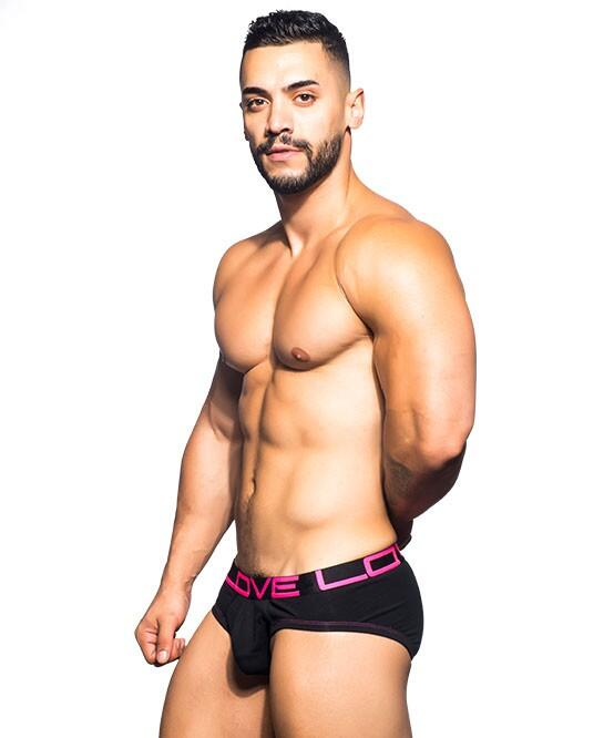 Andrew Christian love brief sort