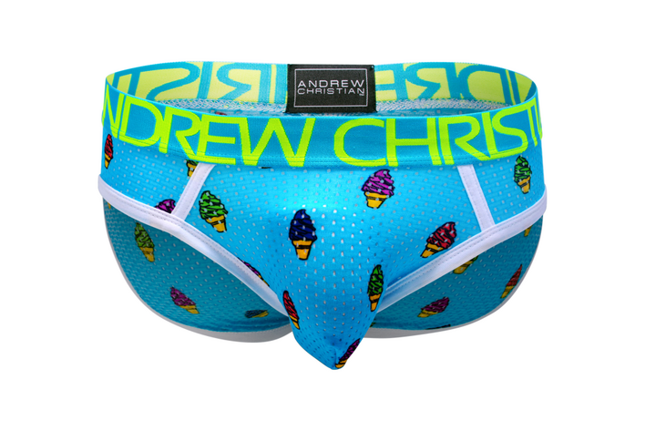 Andrew Christian Ice Cream Mesh Brief