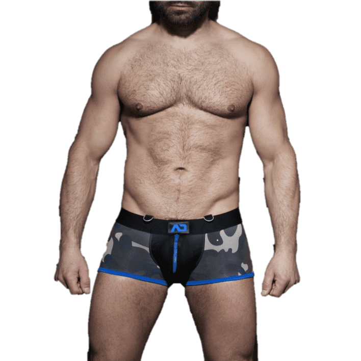 ADDICTED ADF67 ZIPPER CAMO BOXER