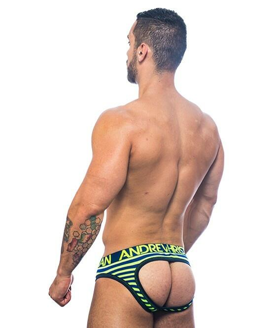 Electric Stripe Air Jock