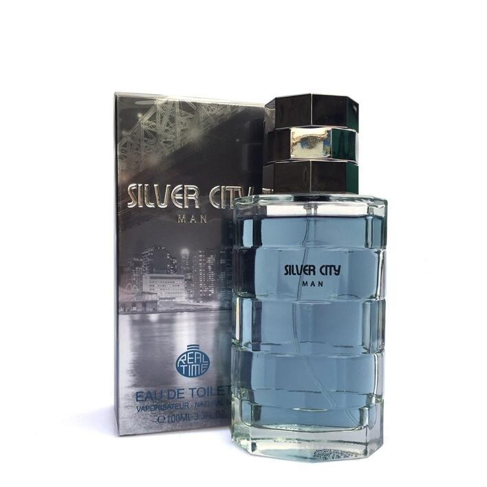 Herre parfume real time sliver city parfume 100 ml