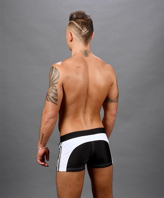 Andrew Christian Phys. Ed. Varsity Zipper Pocket Trunk