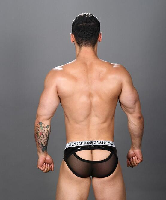 Master Sheer Eclipse Brief w/ Almost Naked