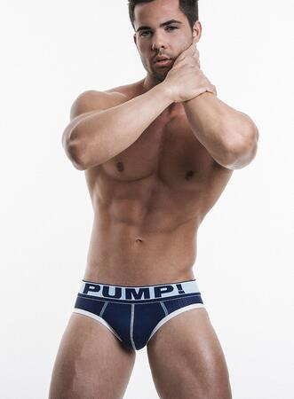 PUMP! Blue Steel Brief