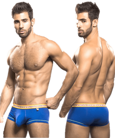 Andrew Christian Glow Pop Boxer w/ almost naked blå
