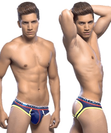 Andrew Christian  Air Jock w/show it