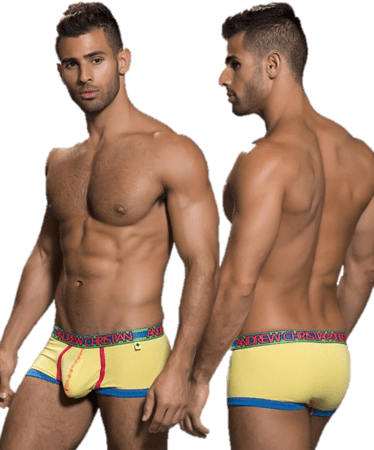 Andrew Christian Retro Pop Sonic Boxer