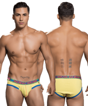 Andrew Christian Retro Pop Sonic Brief gul