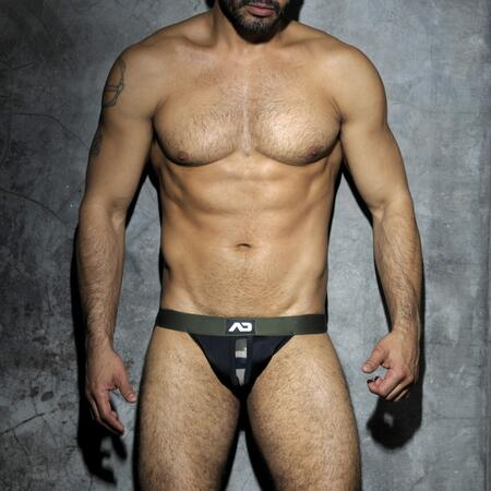 ADF18 CAMOUFLAGE PANEL FETISH  JOCK