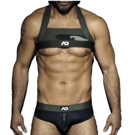 ADF34 Addicted Camo Mesh Harness