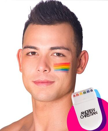 Andrew Christian face print