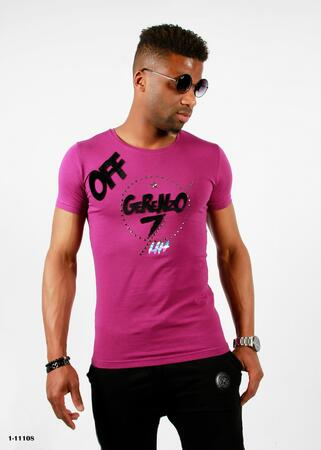 David & Gerenzo t-shirt lilla
