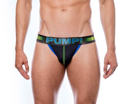 PUMP! PLAY Green jockstrap